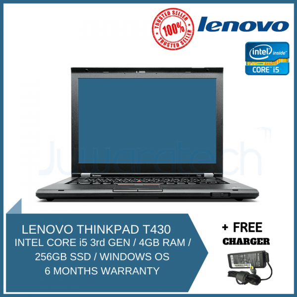Lenovo Thinkpad T430 Core i5 3rd gen 4 Gb 500 Gb hdd WiFi webcam